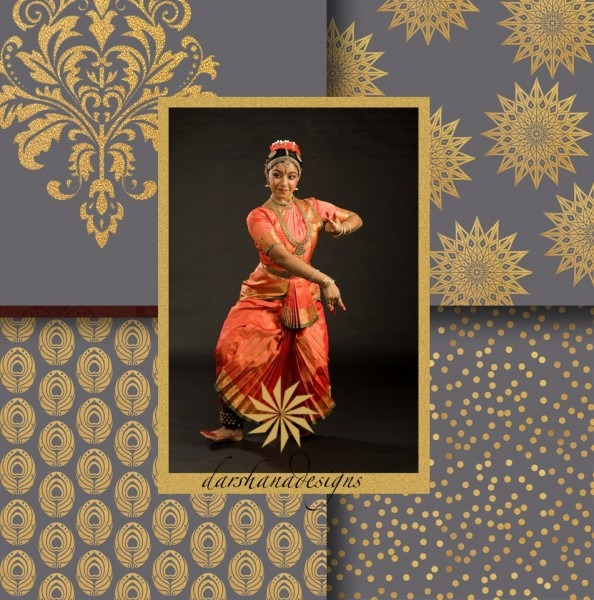 Bharatanatyam, Arangetram, Guest Signing Book, Invitations