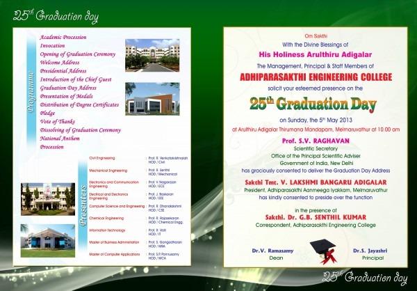 25th Graduation Ceremony