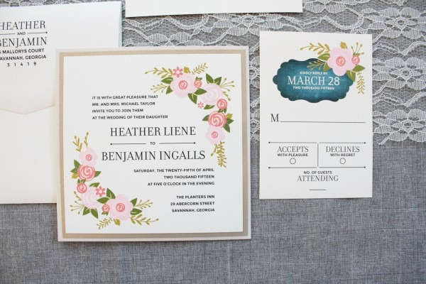 Square Wedding Invitations (what Size, Postage, Styles, Etc
