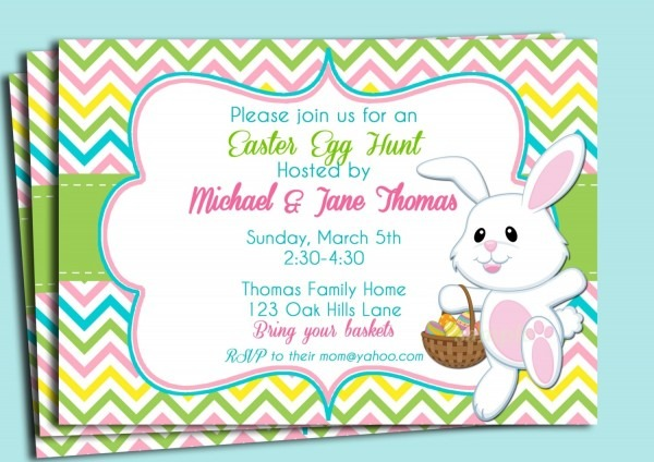 Free Printable Easter Invitation Templates – Hd Easter Images