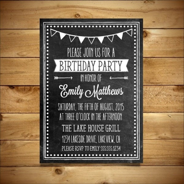Bowling Party Invitation Template Word Simple Free Dinner
