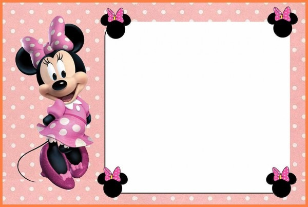 5+ Free Minnie Mouse Invitation Template