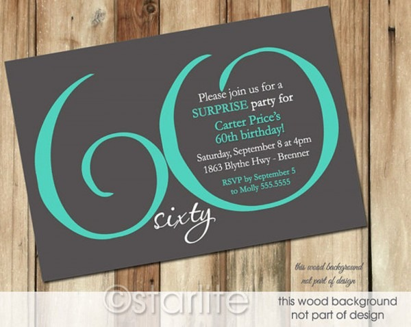 Free Printable Surprise Th Popular Th Birthday Photo Invitations