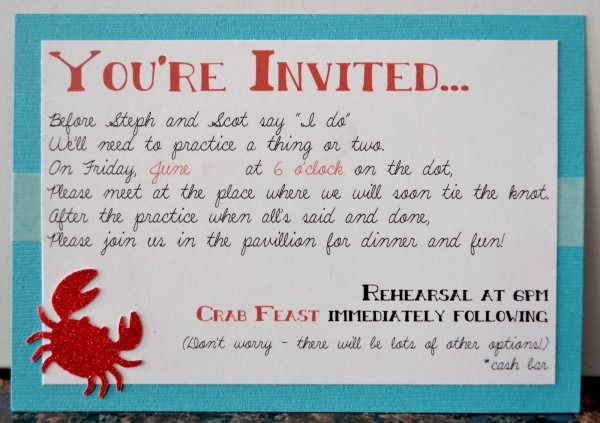 Funny Dinner Invitation Wording