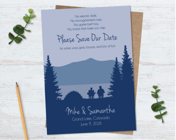 Funny Save The Date Wording Examples You Might Not Have Seen