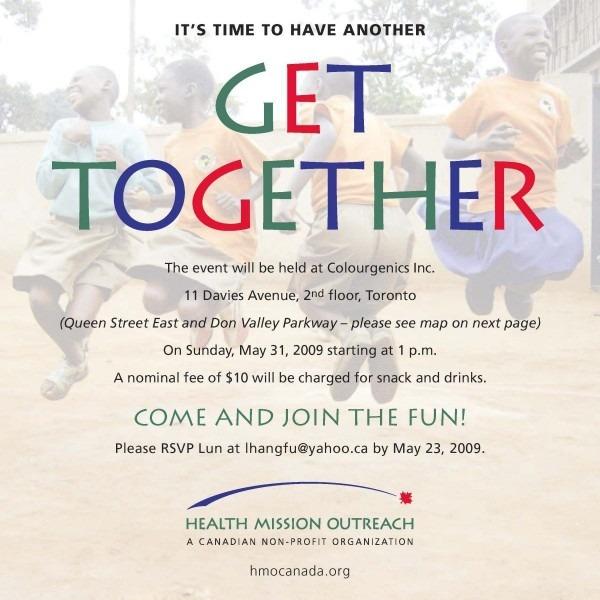 Get Together Invitation Template Picture – Get Together Online