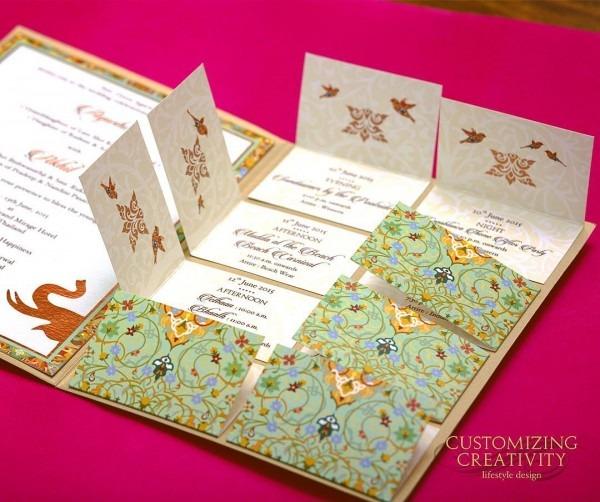Invitations   Gorgeous Unique Wedding Invitation Cards Designs