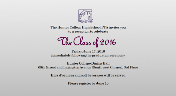 Graduation Reception Invitation