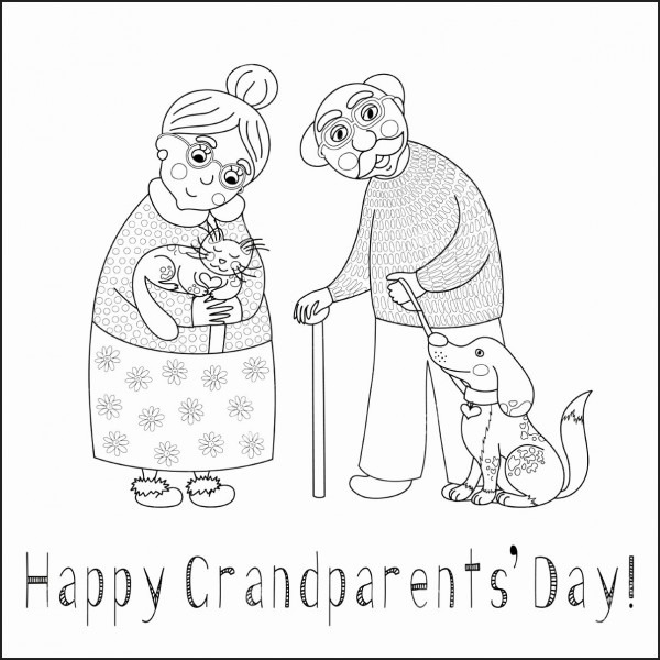 Grandparents Day Invitation Template New Grandparents Day Cards