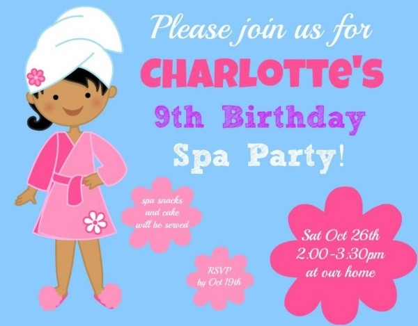 Age 9 Birthday Invitations – Birthday Invitations