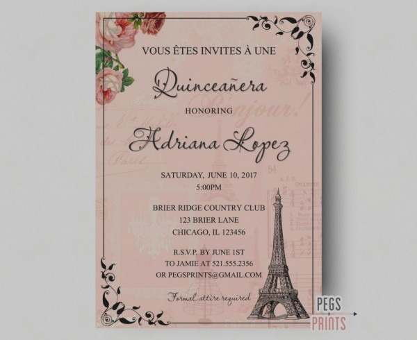 Amazing Invitations For Quinceaneras Rhinestone Diamond Lasercut