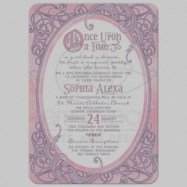 Inspirational Quinceanera Invitation Wording Invitations With