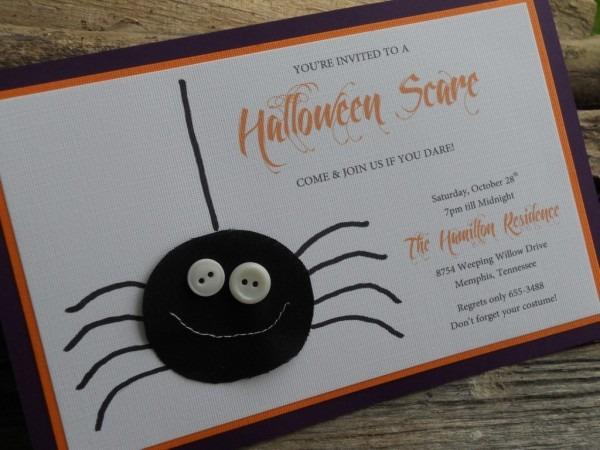 Halloween Invitation Ideas Homemade – Festival Collections