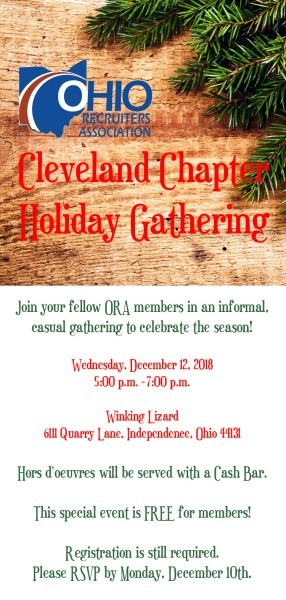 Holiday Chapter Meeting Invitation