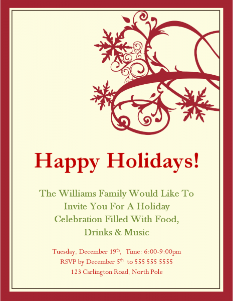 Corporate Holiday Party Invitations Invitation Wording As An
