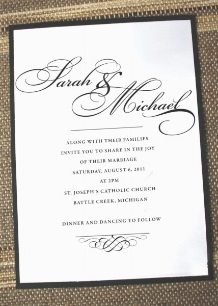 How To Address Wedding Invitations Without Inner Envelope Unique