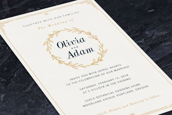 How To Design Wedding Invitations  7 Simple Steps