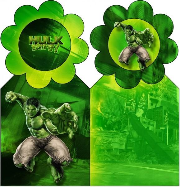 Hulk Free Party Printables