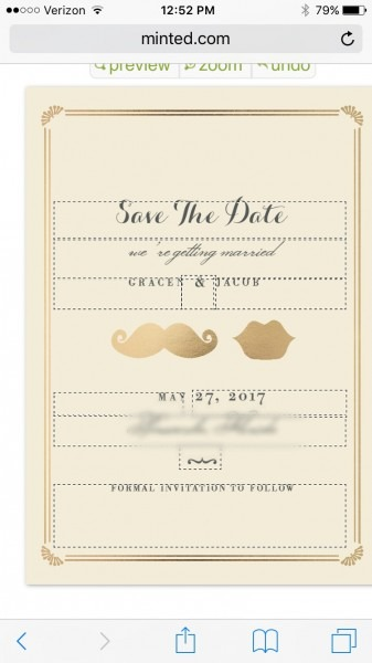 Do The Save The Dates Have To Match The Invitations  Or Vice Versa