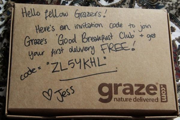 My Journey To Thin   Graze's 'good Breakfast Club' (plus Free Code)