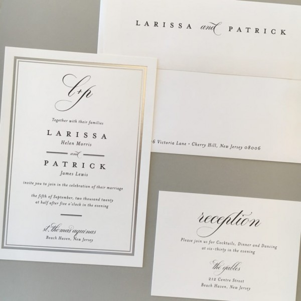 Wedding Invitations, Custom Letterpress And Other Fine Stationery
