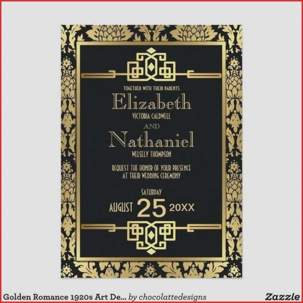 Invitation For Weddin Spectacular Great Gatsby Party Invitation