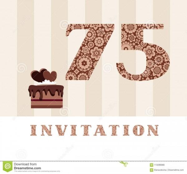 The Invitation, 75 Years Old, Chocolate Cake, Heart