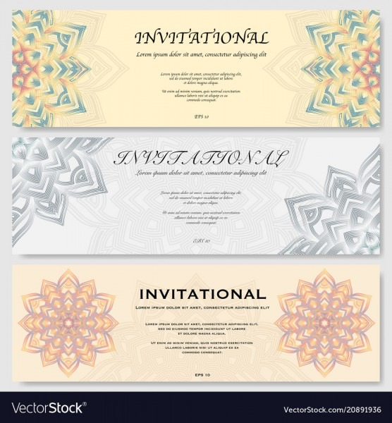 Invitational Cards