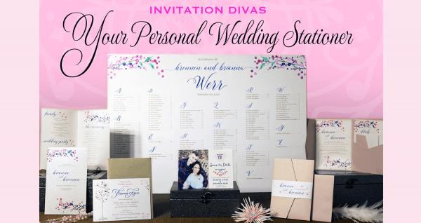 Graphic Design Divas Invitations