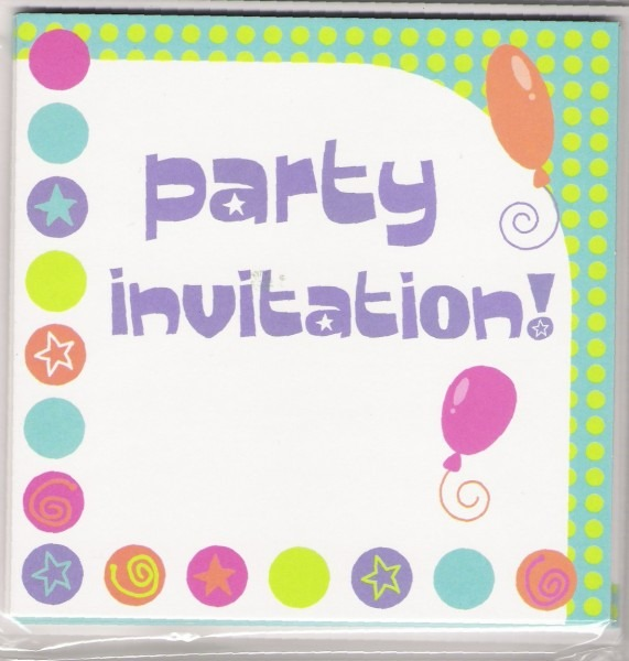 Invite Party Simple Invitation To A Party
