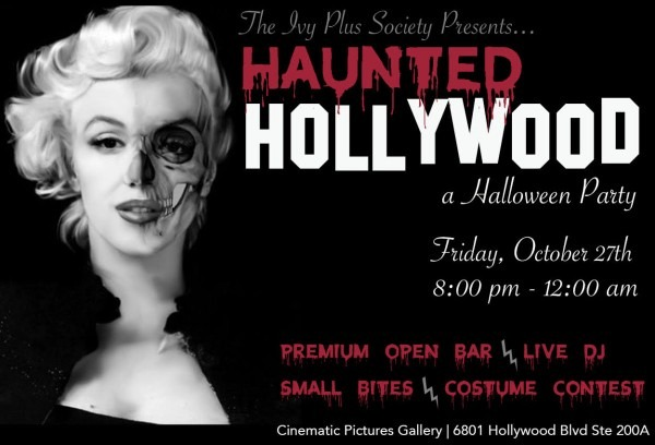 La  Haunted Hollywood Halloween Party – The Ivy Plus Society