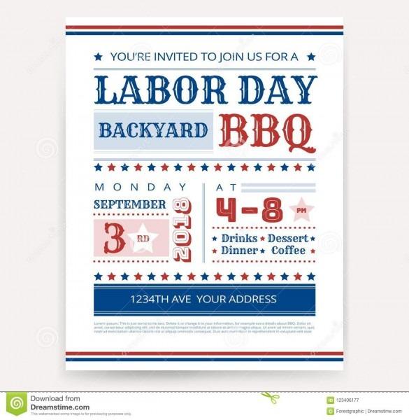 Labor Day Invitation Wording