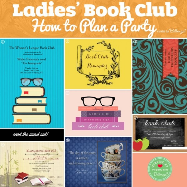 Ladies Book Club Party  How To Make It A Bestseller!