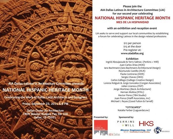 About Lia  National Hispanic Heritage Month Celebration