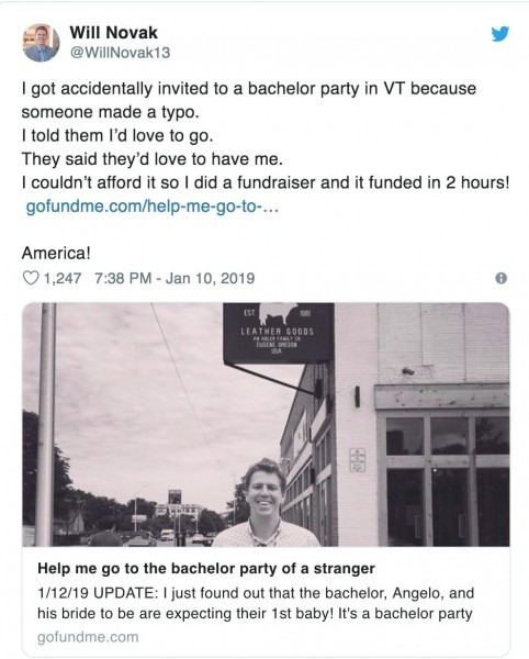 Email Typo Has Man Attending Stranger's Weekend Bachelor Party In