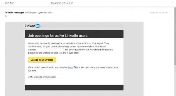 Security Alert  Job Seekers, Beware Of This Linkedin Scam