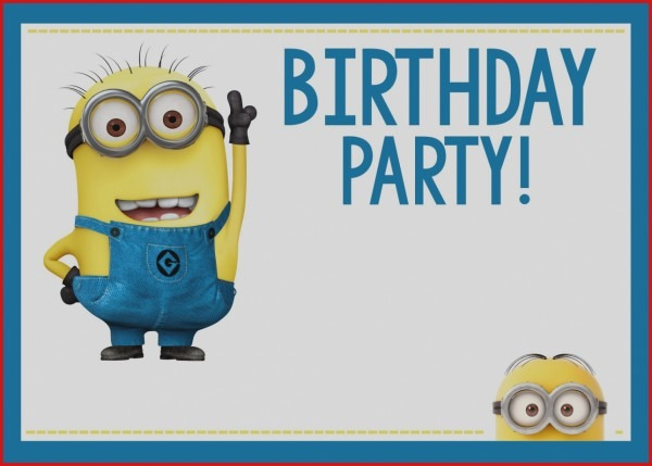 Invitation Ideas  Minion Birthday Invitations
