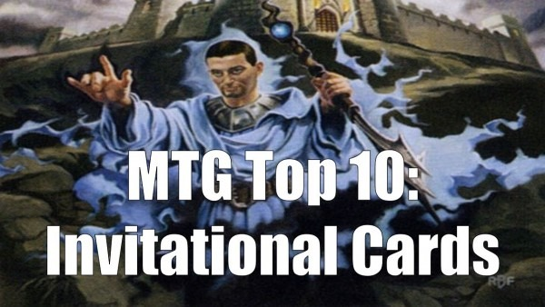 Mtg Top 10  Invitational Cards