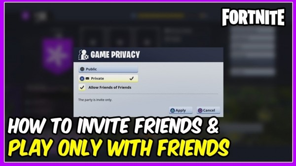 How To Invite Your Friends & Only Play Mission With Your Friends
