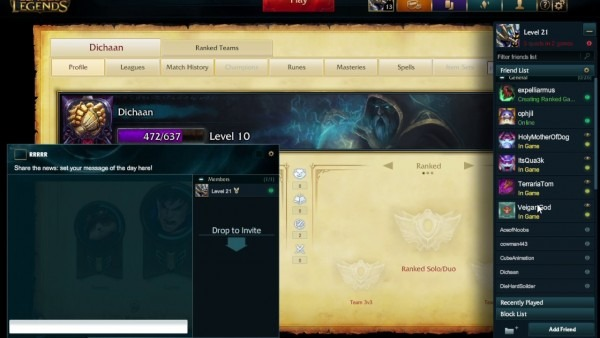 How To Create A Club And Invite People To It In League Of Legends