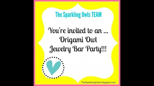 You're Invited To An Origami Owl Jewelry Bar Party!