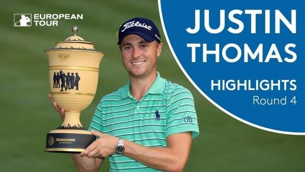 Justin Thomas Winning Highlights