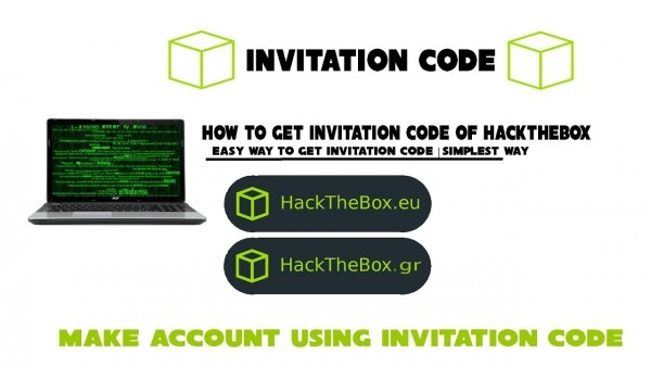 How To Get Invitation Code Of Hackthebox