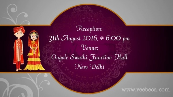 Shubh Vivah (indian Animated Wedding Video Invitation Theme