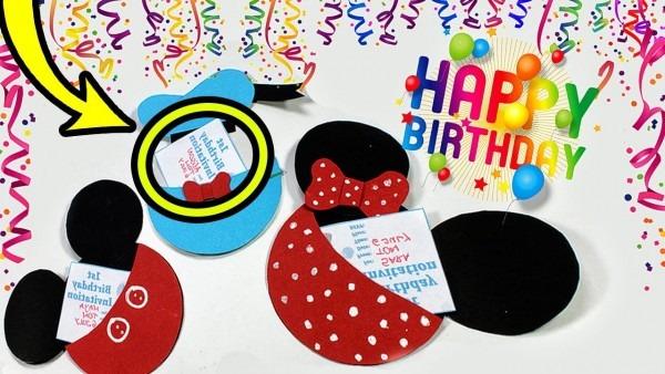 Diy Birthday Gift Cards