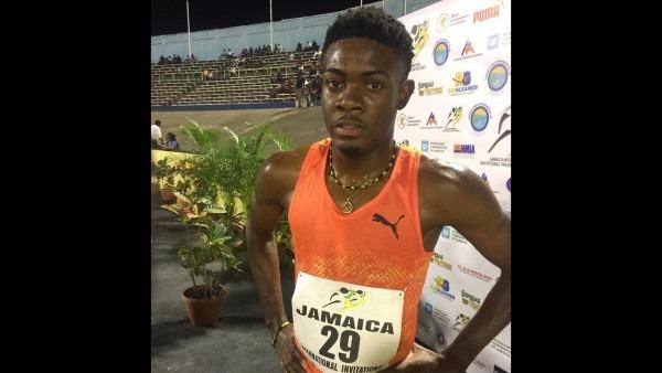 Christopher Taylor Wins Men's 200 M At Jamaica International