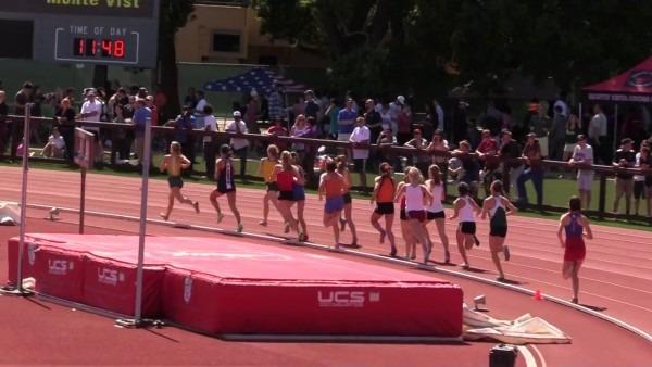 Stanford Invitational 2017, Girls Mile, Heat 2