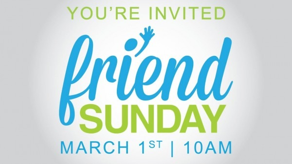 Friend Sunday 2015