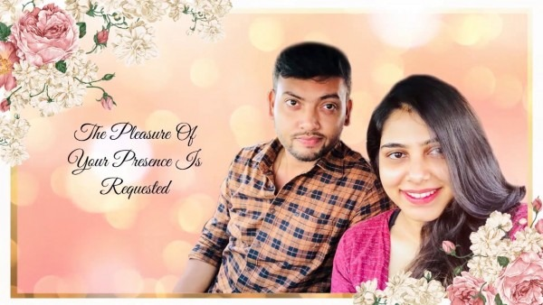 Engagement Invitation Video Of Apporva & Aishwarya
