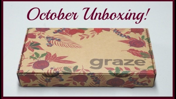 Graze Unboxing & Review  5 + Promo Codes!